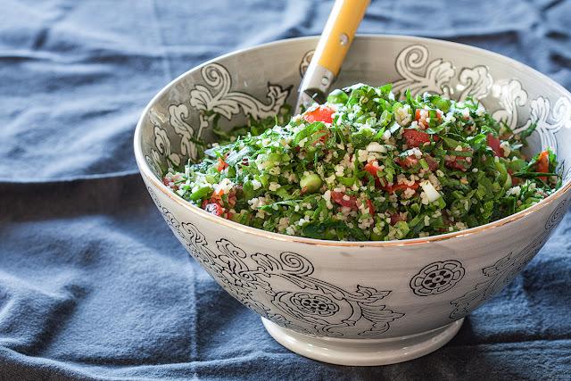Libanska salata od peršuna (Tabbouleh)