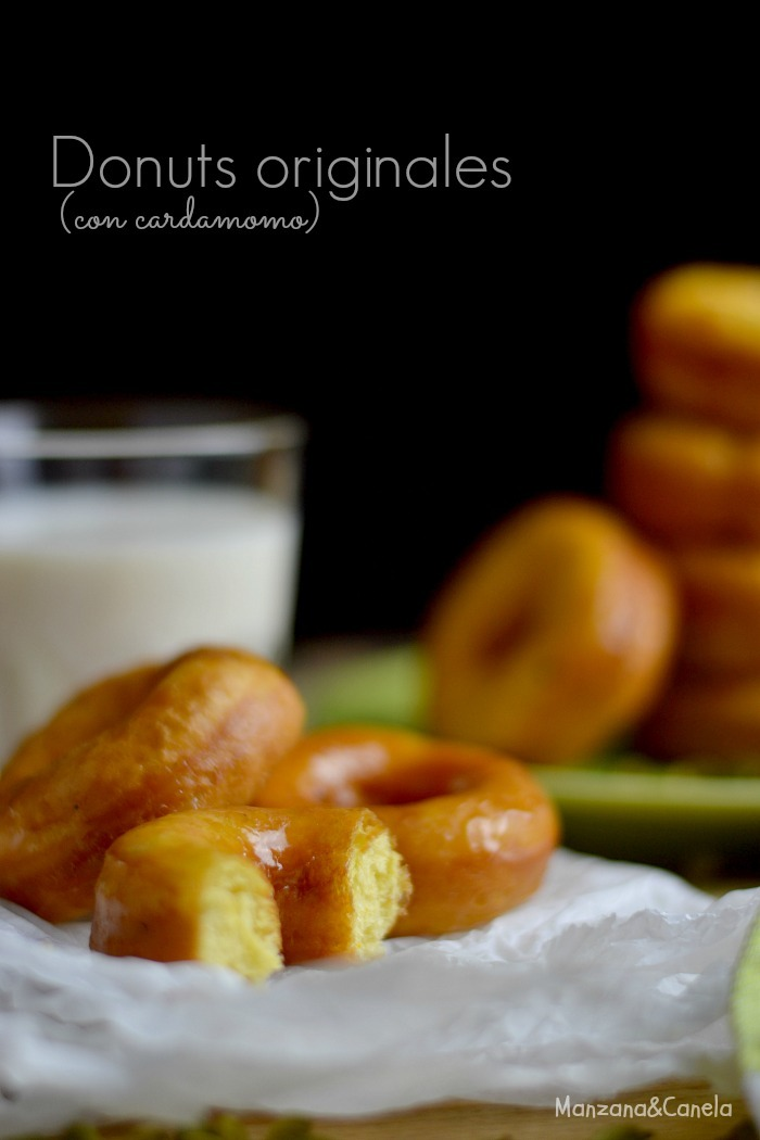 Donuts originales (con cardamomo)