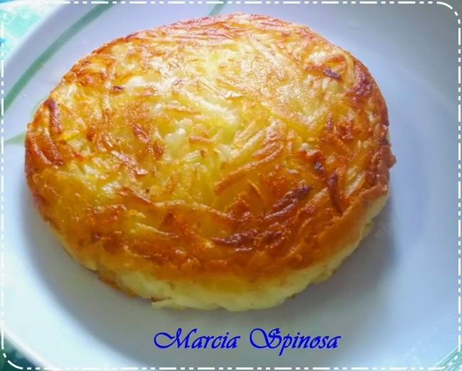 Batata Rosti (hamburguer de batata Rosti), de Márcia Spinosa