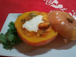 acompanhamento para carne de sol na moranga