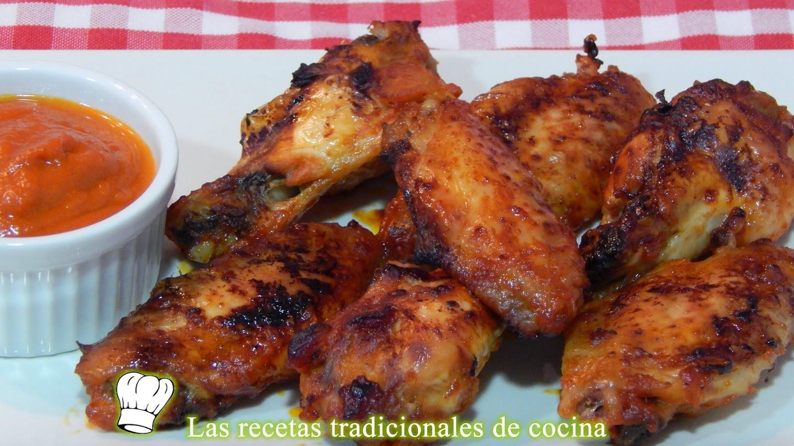 Alitas de pollo con salsa barbacoa receta fácil y casera
