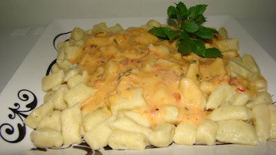 Nhoque de Batatas Com Queijos