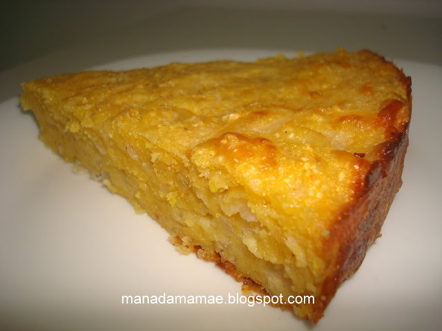sopa paraguaia com milharina
