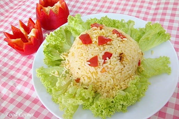 Bell Pepper Rice