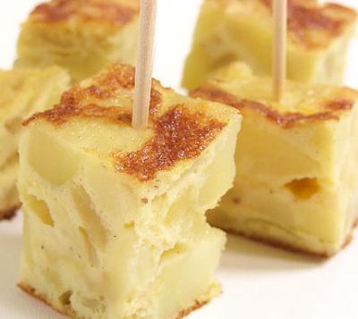 Tortilla española express (20 minutos)