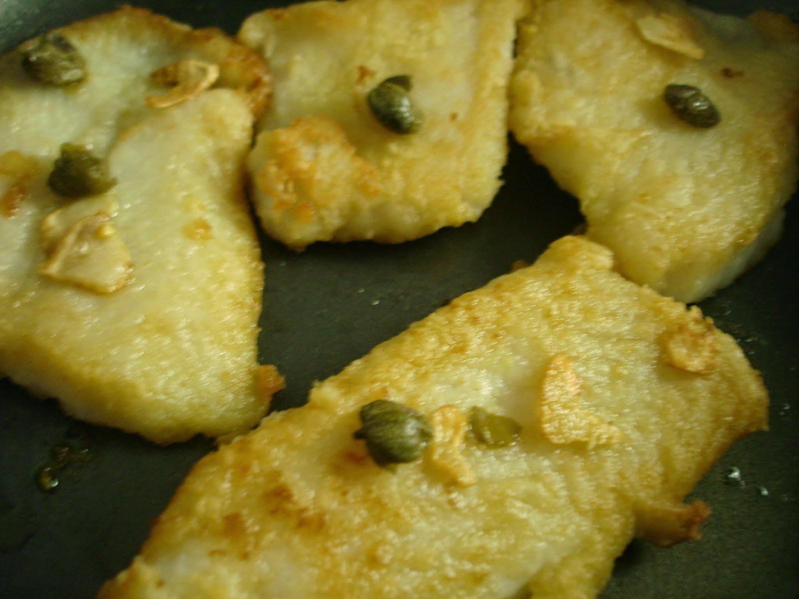 Tilápia e Salmão no azeite, com alho e alcaparras ou com gergelim, em poucos minutos!