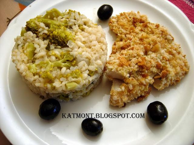 "Peixe à milanesa ao forno - Filet de poisson pané au four façon ""milanesa"""