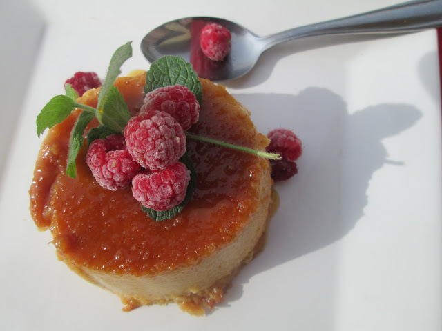Apple and Quinoa Flan