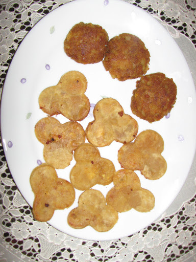 Kiddies Meal Combo 2 - Petal Parata & Potato cutlets