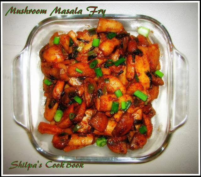 Mushroom Masala fry