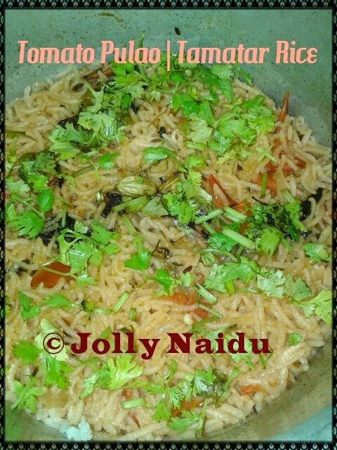 Tomato Pulao | Tamatar Rice Recipe