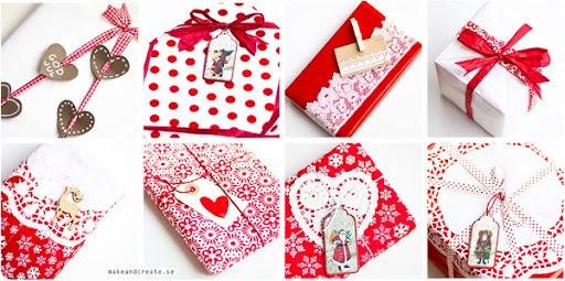 Praznični dekor - pakovanje poklona
