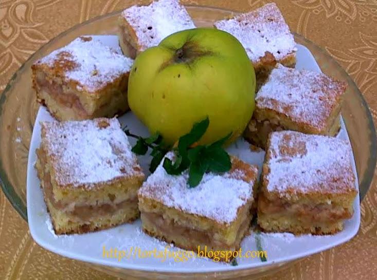 Birsalmás kavart sütemény