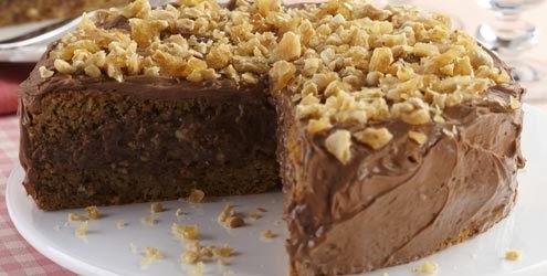 creme de amendoim para recheio de bolo de chocolate