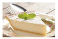 torta de limão com gelatina incolor