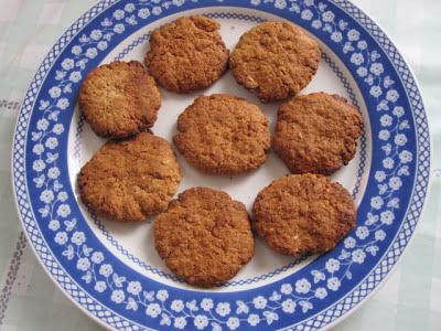 Biscoitos da tarde