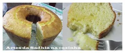 O melhor bolo de laranja do mundo ,Bolo do Mauro Rebelo.