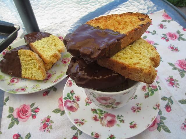 Giada de Laurentis chocolate citrus biscotti