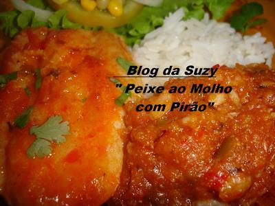 Peixe ao Molho com Pirão (fácil)