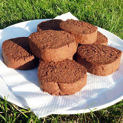 Chocolate shortbread (mark II)