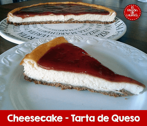 Cheesecake delicioso, simple y fácil