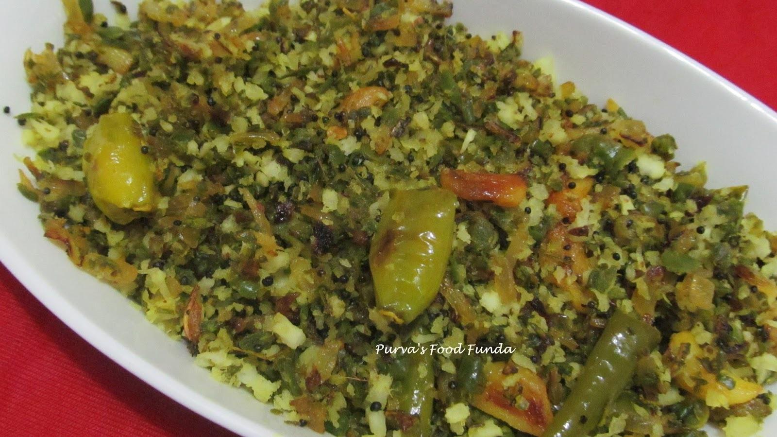 Stir-fry Chutney Of  Ridge Gourd (Turai)  Peels