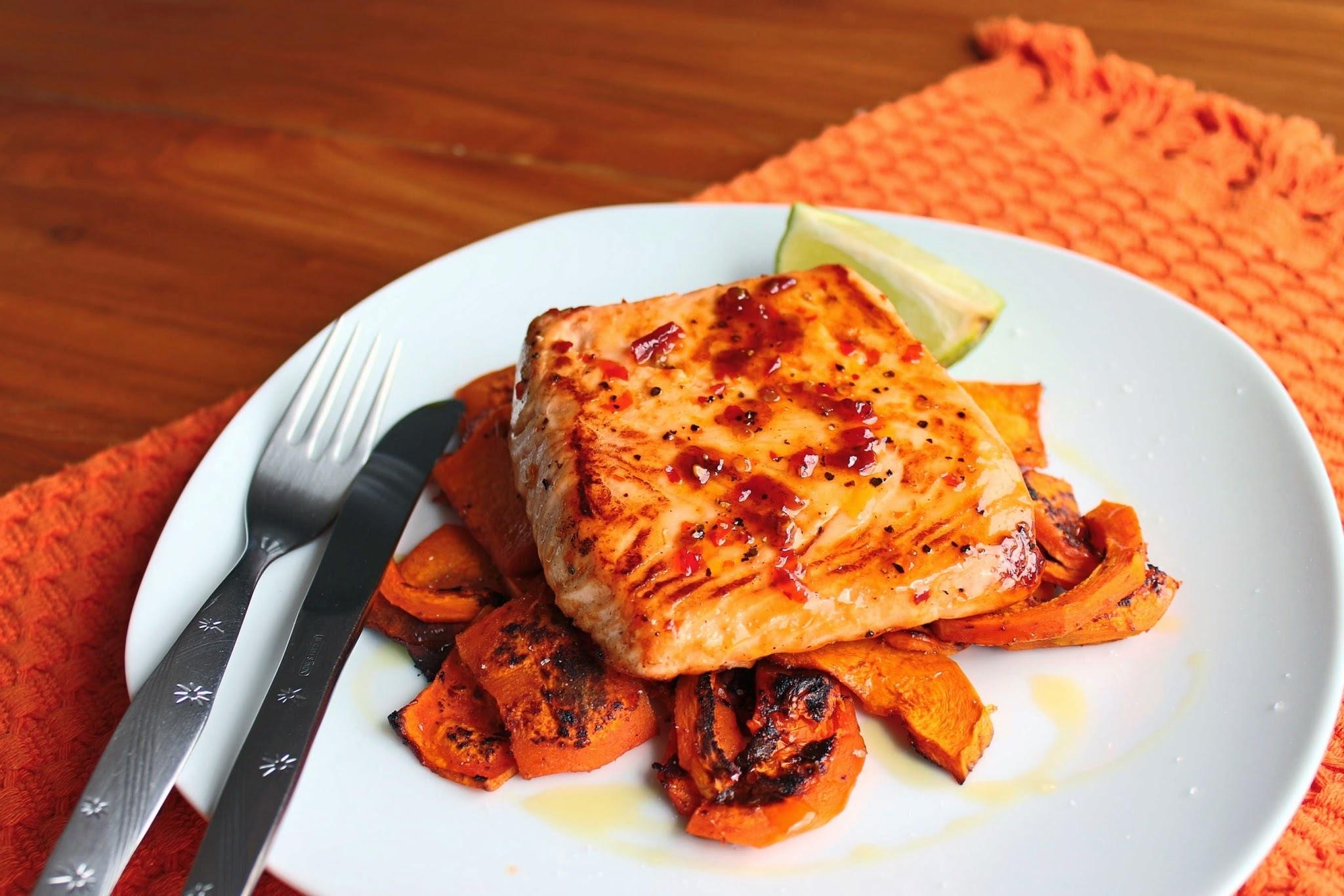 """salmão com abóbora e """"peixetarianismo"""""""