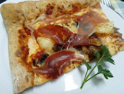 de pizza amb farina d espelta