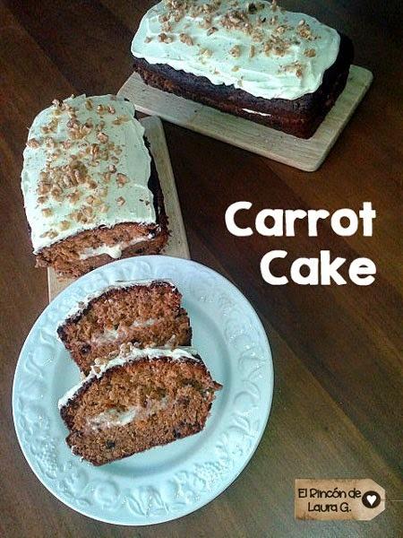 Receta de Carrot Cake • Tarta de Zanahorias
