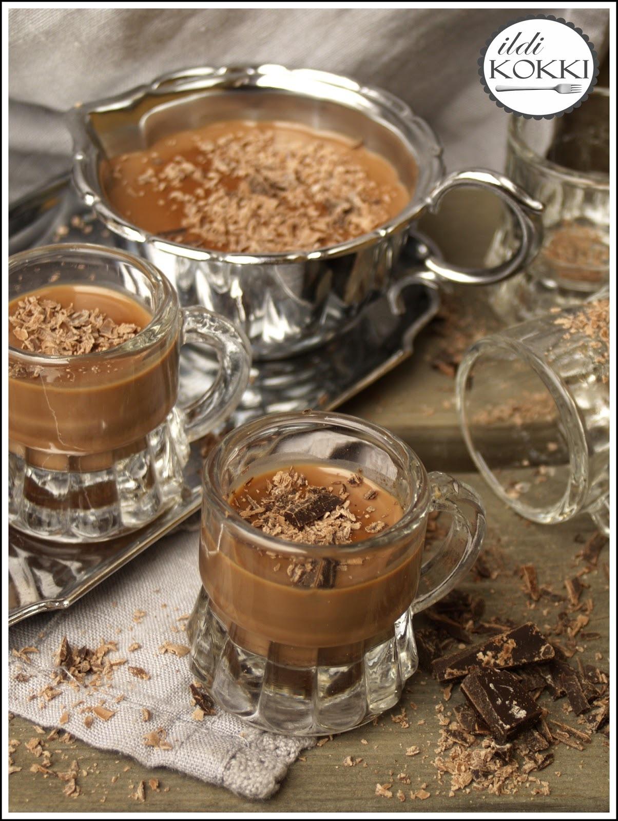 Whisky alapú fűszeres csokoládé krémlikőr