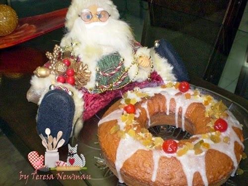 Bolo da Vida- Bolo de Natal
