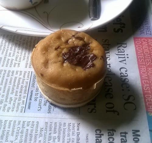 Vanilla Chocolate Cupcake | Eggless Cupcake