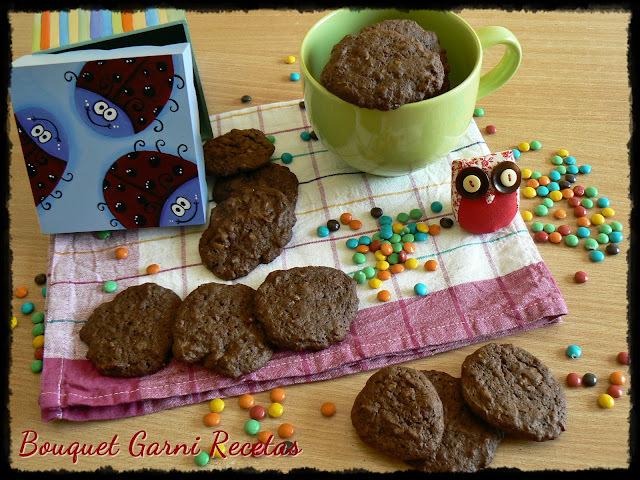 Galletas de chocolate, avena, nueces y naranja (¡Y un nuevo premio!)