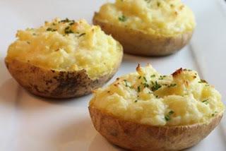 como fazer batata cozida temperada simples