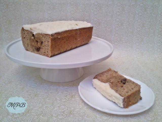 Plum Cake de plátano, chocolate y nueces