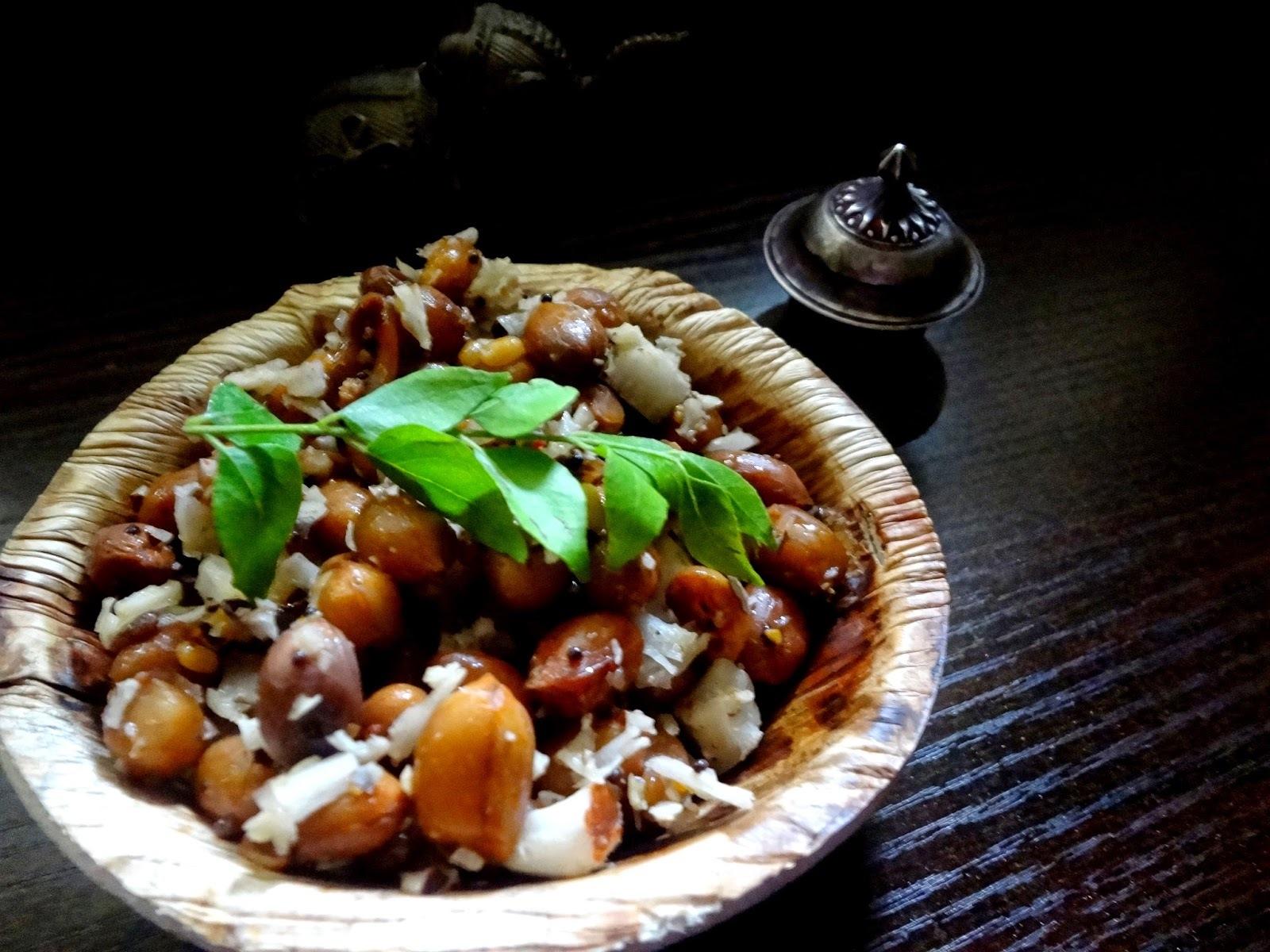 Peanut Sundal ( Groundnut sundal  )
