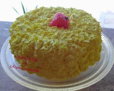 calda para bolo de limão glaçucar