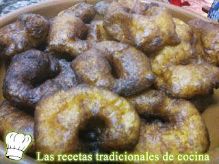 Receta de Buñuelos de Calabaza