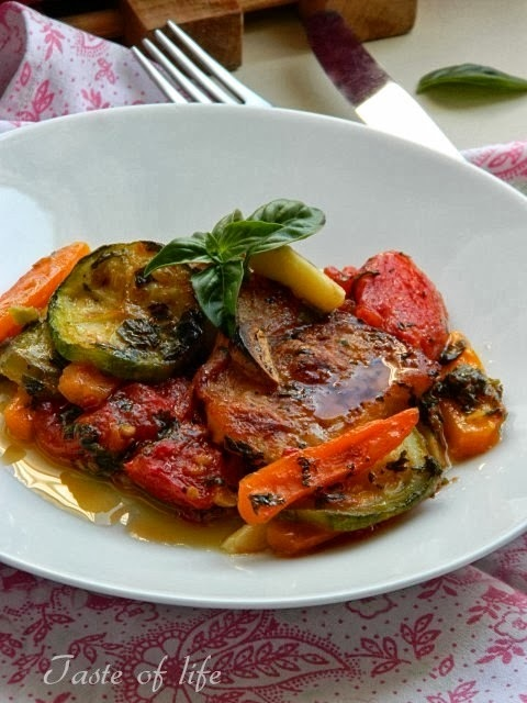 Fileti ribe na povrću