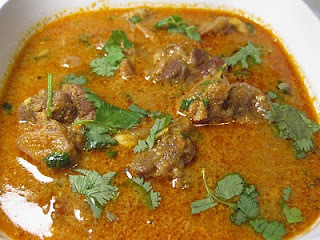 Mutton Chettinadu Masala (Chettinadu style lamb gravy)