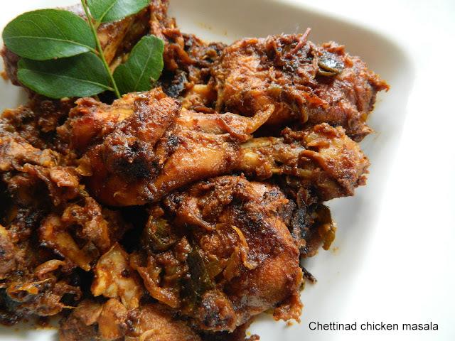 Chettinad chicken masala