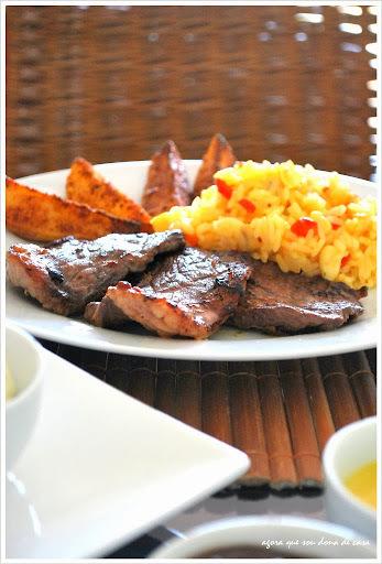 outback em casa: arroz da tasmânia, golden potatoes...um post com muitas receitas!