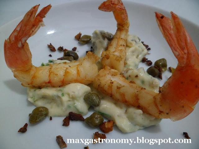 ingredientes que combina com camarão