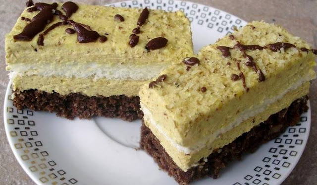 RISUS KOLAČ: Fina kombinacija lješnjaka, tamne čokolade, pudinga...