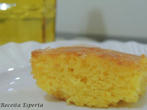 cobertura de clara de ovo para bolo de laranja
