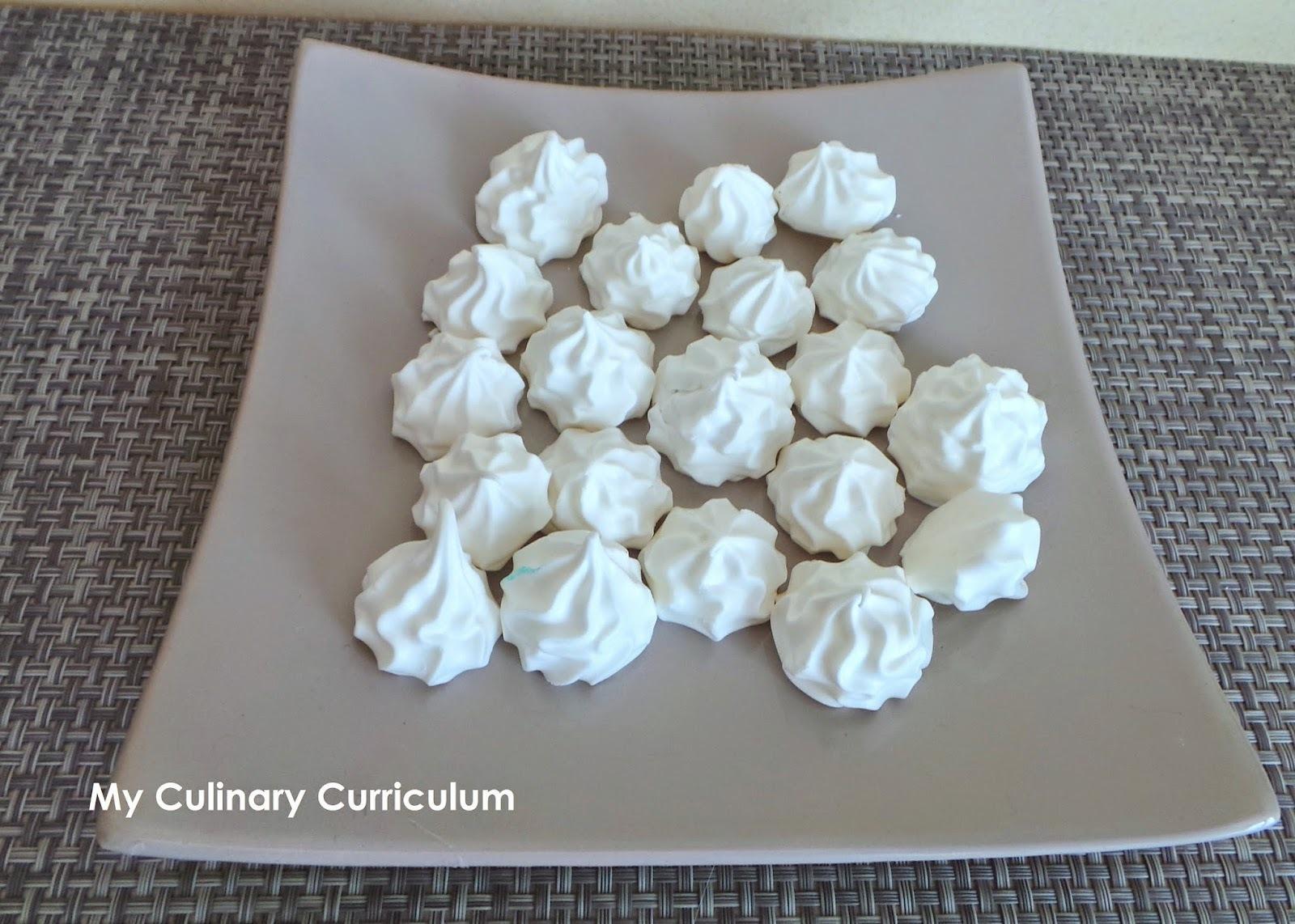 Meringues faciles (easy meringues)