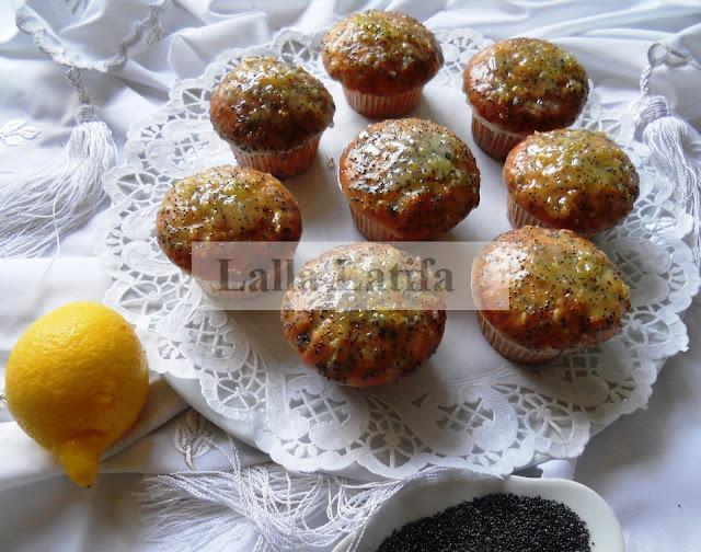 Cupcakes aux graines de pavot et au citron