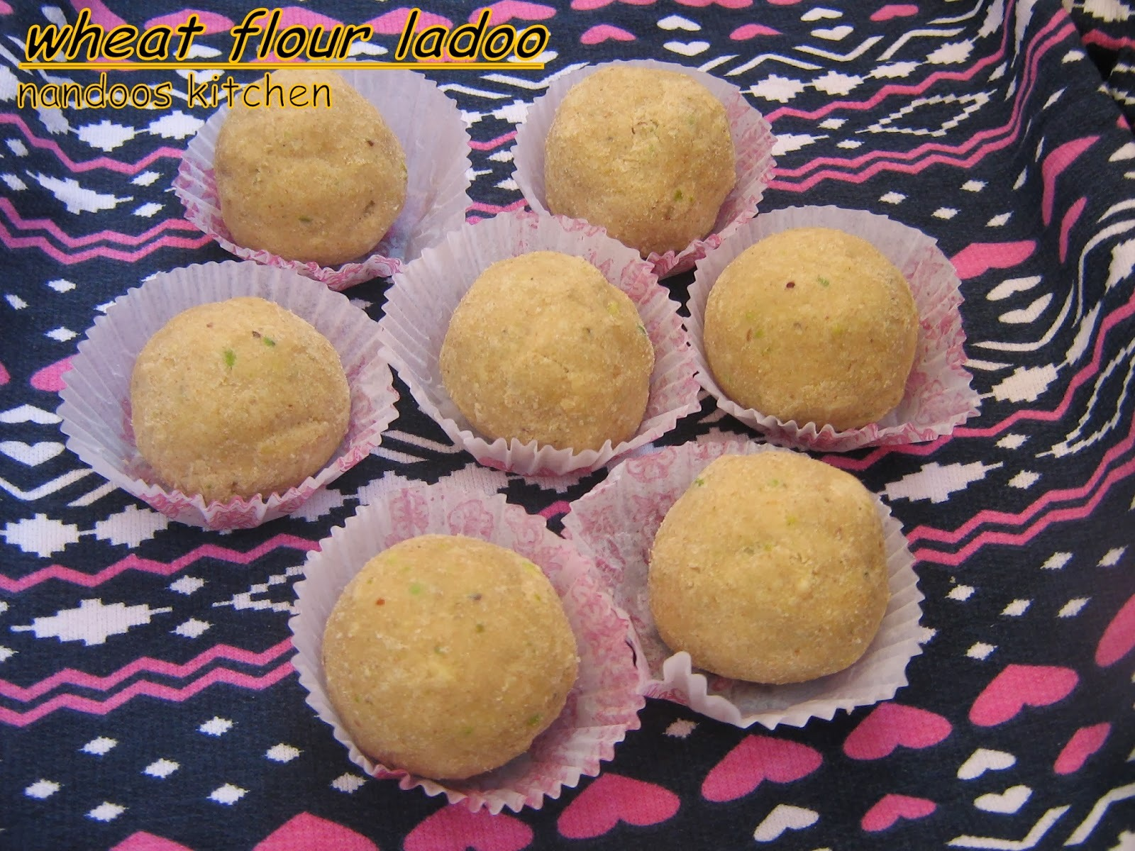 Atta ladoo / Easy wheat flour ladoo / gothambu ladoo / ladoo recipes