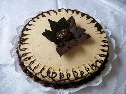 Torta brownie de moka