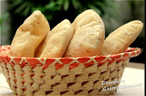 DESAFIO: Pão Pita (ou sírio)